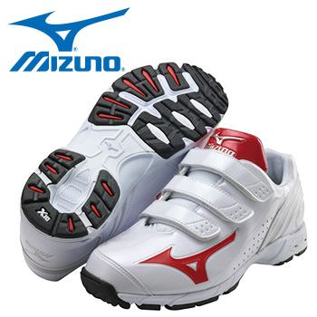 Mizuno Diamond Hero Trainer (White/Red or Navy)