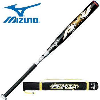 Fast Pitch Bat >> Mizuno AX4 FastPitch Bat (Black/Gold) (0903)